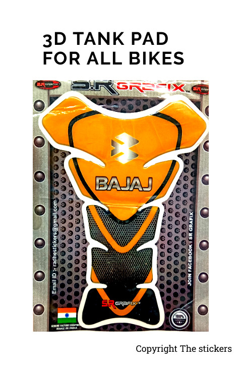 Tank pad Graphics For Pulsar 150 - The Stickers