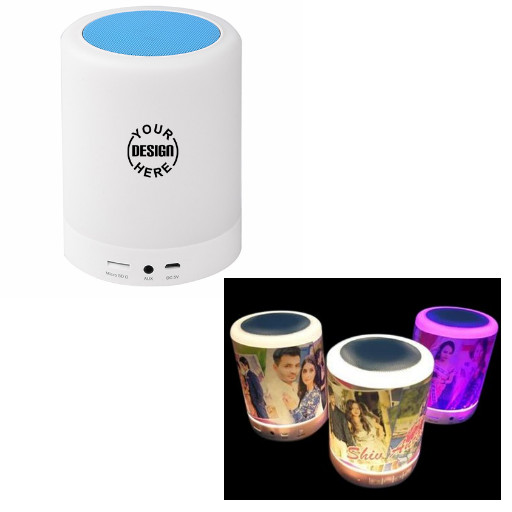 Customize Bluetooth Light Speaker/ Custom Photo Speaker